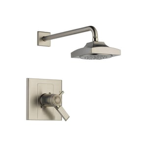 Delta Faucet Arzo® 2.5 gpm Shower Faucet Trim with Double Lever Handle (Trim Only) DT17T286