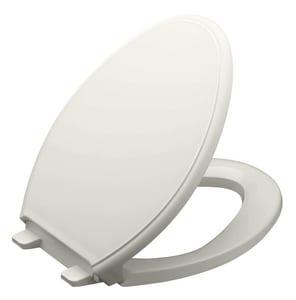 Kohler Glenbury™ Quiet-Close™ Elongated Closed Front Toilet Seat in Ice Grey K4733-95