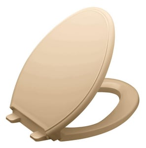 Kohler Glenbury™ Elongated Closed Front Toilet Seat With Cover in Mexican Sand K4733-33