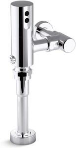 Kohler Tripoint™ 1.0 gpf Exposed Hybrid Flushometer for Urinal Installation in Polished Chrome K7542-CP