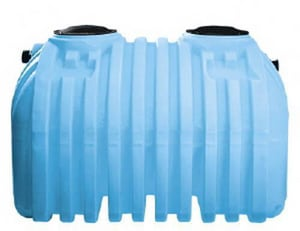 Norwesco 1000 gal Polyethylene Single Compartment Septic Tank in Blue N41734