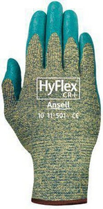 Ansell Occupational Healthcare HyFlex® Size 8 Ultra Lightweight Assembly Gloves in Blue ANS103366