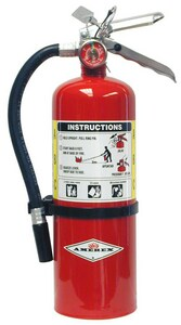Amerex 5 lbs. Extinguisher with Truck Bracket AB402T
