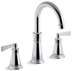 Kohler Archer® Two Handle Roman Tub Faucet in Polished Chrome Trim Only KT45849-4-CP