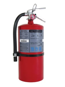 BRK Electronics 20 lbs. Commercial Rechargeable Fire Extinguisher BFE20A120B
