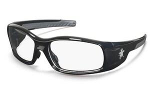 Crews Swagger® Black Frame Safety Glasses CSR11