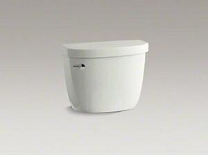 Kohler Cimarron® 1.6 gpf Toilet Tank in Dune with Left-Hand Trip Lever K4167-NY