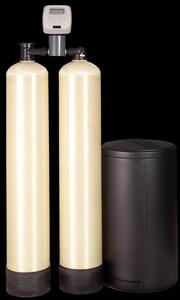 First Sales 1 CF Combination 3-Tank Iron Flat Softener FIFS10
