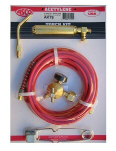 Acetylene Supply Acetylene Torch Kit with Spring End Hose AAK1S