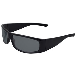 ERB Safety Boas Xtreme Nylon Safety Glasses with Black Frame & Smoke Lens EE17921FEI