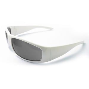 ERB Safety Boas Xtreme Nylon Safety Glasses with White frame & Smoke Lens EE17928FEI