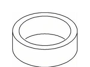KOHLER Retainer Hose Seal K1010357