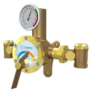 Guardian Equipment Thermostatic Mixing Valve for Emergency Showers and Safety Stations with flows within 3 to 44 gpm GG3800 at Pollardwater