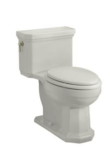 Kohler Kathryn® 1.6 gpf Elongated Toilet in Ice Grey with Left-Hand Trip Lever K3324-95