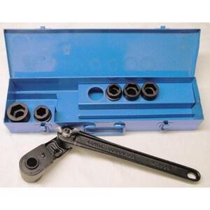 Lowell Corporation 3/8 in. Metal Standard Socket Set L36514