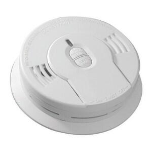 Kidde Battery Operated Smoke Alarm in White K21008697