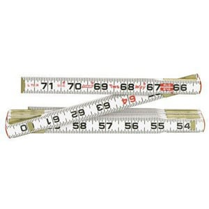 Lufkin 6 ft. Two-way Ruler L966