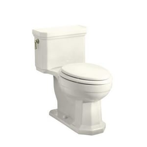 Kohler Kathryn® 1.6 gpf Elongated Toilet in Biscuit with Left-Hand Trip Lever K3324-96