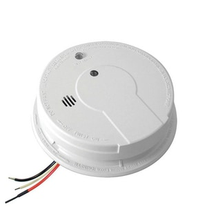 Kidde Hardwired Inter-Connectable Smoke with Battery Backup in White K21006371