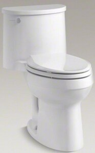 Kohler Adair® 1.28 gpf Elongated One Piece Toilet in White K3946