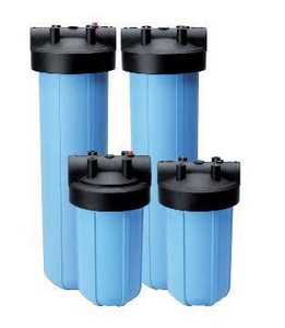 O3 Water Systems 4-1/2 x 10 in. Filter Housing Kit OPFCH1045BL15PRK