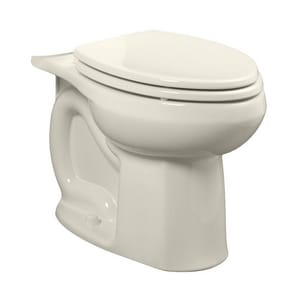 American Standard Colony® 1.28 gpf Elongated Floor Mount Toilet Bowl in Linen A3251C101222