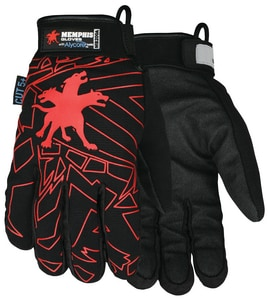 Memphis Glove M Size Multi-Task Alycore and Synthetic Leather Gloves with 360 Degree Protection MMB200AM