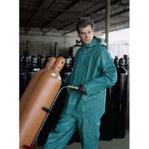 Chemical SUIT 2 Piece Green Triple Extra Large R3882X3