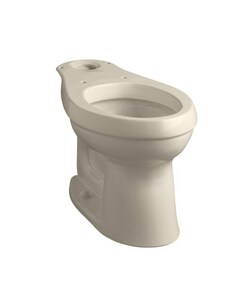 KOHLER Cimarron® 1.6 gpf Elongated Toilet Bowl in Biscuit K4309-96
