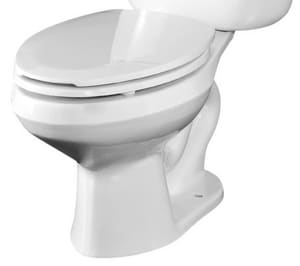 Briggs Plumbing Products Altima™ Round Toilet Bowl in White B4320WH