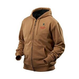 Milwaukee M12™ XL Size 12 V Heated Hoodie in Khaki M2375XL