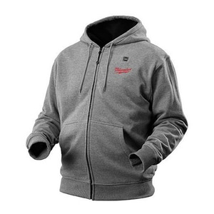 Milwaukee M12™ S Size Heated Hoodie in Grey M2372S