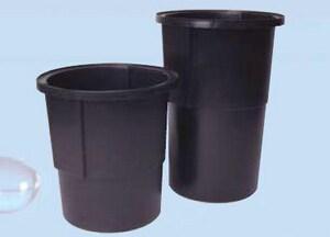 AK Industries 18 x 30 x 4 in. PVC Polypropylene Basin AAF-Loose in Black AAKP38040