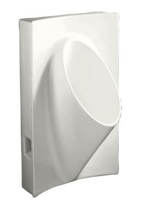 Kohler Steward® Waterless Urinal in White K4919-0