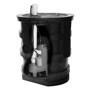 Goulds Pumps 115 V 1/2 hp Single Phase Sewage Pump System GGWP2131