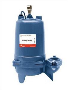 Goulds Pumps 3887 Series 2 in. 3/4 hp Submersible Sewage Pump GWS0712BF at Pollardwater