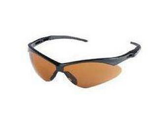Jackson Safety Nemesis™ Safety Spectacle with Cords, Black Frame & Amber Lens J25659