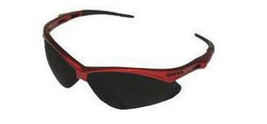 Jackson Safety Nemesis™ Safety Glasses with Red Frame & Smoke Lens without Cord J22611