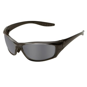 ERB Safety Safety Glasses with Titanium Frame & Smoke Lens E1790