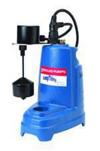 Goulds Pumps SuperTRAP® 2 in. 1/3 hp 1-Phase Submersible Sewage Pump GST31M at Pollardwater