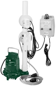 Zoeller 4/10 hp Oil Guard System Elevator Sump Pump Z9400012
