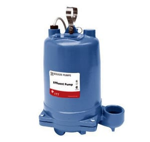 Goulds Pumps 2 in. 1/3 hp Submersible Effluent Pump GWE0311L at Pollardwater
