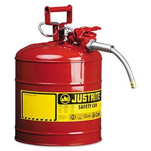 AccuFlow™ Safety Can Type II 5 gal with Flexible Spout JUS7250120 at Pollardwater