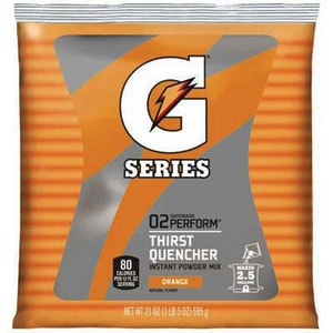 Gatorade 2.5 gal Orange Instant Powder GTD03970