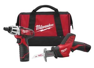 Milwaukee M12™ Cordless 12V Reciprocating Saw 2 Tool Kit M249022