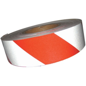 Harris Industries Ultralite Grade II 150 ft. x 2 in. Engineer Grade Reflective Tape Red and White HRS6RW at Pollardwater