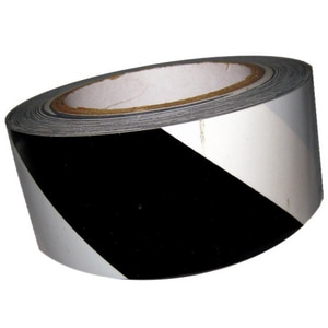 Harris Industries Ultralite Grade II 150 ft. x 2 in. Engineer Grade Reflective Tape White and Black HRS6BW at Pollardwater
