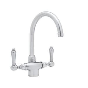 ROHL® San Julio Two Handle Kitchen Faucet in Polished Chrome RA1676LM2