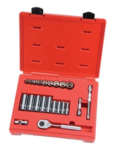 Stanley-Proto Proto® 3/8 in. Drive 12 Point Socket Set with Extension PJ52136 at Pollardwater
