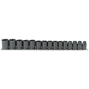 Stanley-Proto Proto® 1/2 in. Drive 6 Point Import Socket Set PJ74204